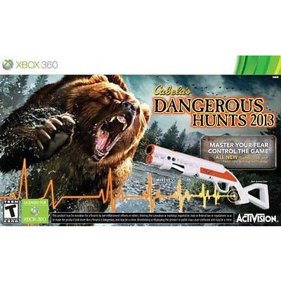 Cabela'S Dangerous Hunts 2013 With Gun - Xbox 360 - Oh!Dreamy™ Online Store