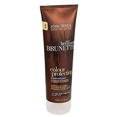 John Frieda Brilliant Brunette Colour Protecting Conditioner, 8.45 Fl Oz