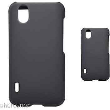 Rocketfish - Hard Shell Case For Lg Marquee Mobile Phones - Black