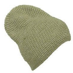 Krochet Kids International 5207.5 Slouch Beanie Mens Hats Army Green O/S ~