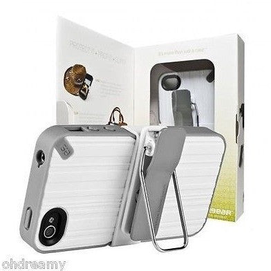 Puregear Clip Case For Iphone 4 4S W/ Griffin Powerjolt Car Charger