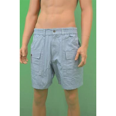 Club Room Shorts, Side Elastic Canvas Sh Faded Sky 33