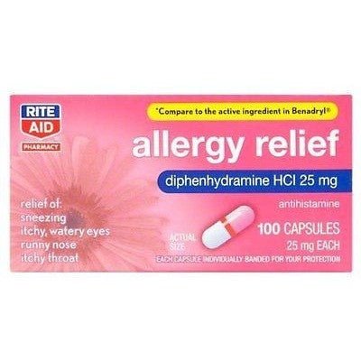 Rite Aid Allergy Medication 100 Ea - Oh!Dreamy™ Online Store