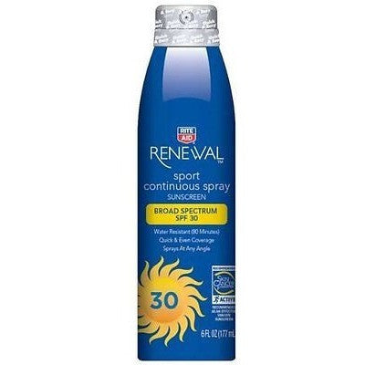 Rite Aid Sport Sunscreen, Spf 30, 6 Oz.