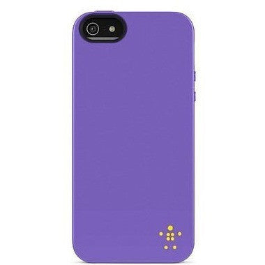 Belkin Grip Neon Glo Case / Cover For Iphone 5 And 5S (Purple)