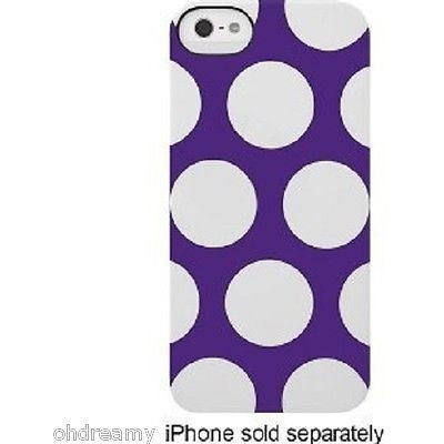 Incase Case Snap For Apple iPhone 5  - Purple/White
