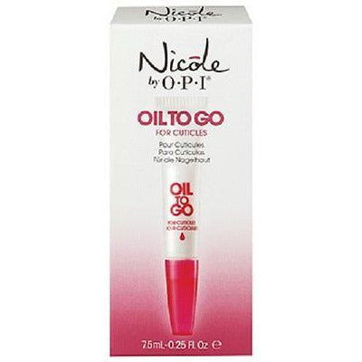 Nicole By Opi Oil To Go For Cuticles, 0.25 Fl Oz