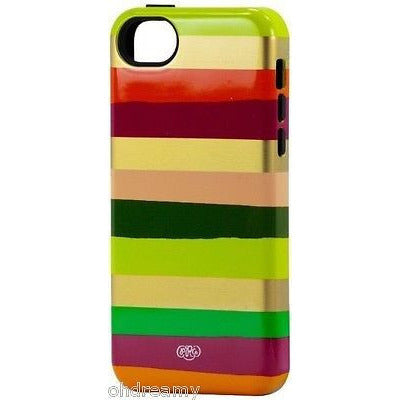 Sonix Inlay Case Cover For Iphone 5C - Berry Stripe