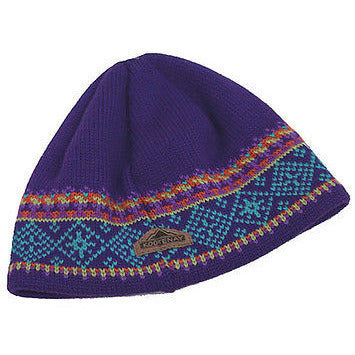 Kootenay Heavy Knit Beanie Girls Hats Purple Size O/S