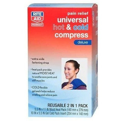 Rite Aid Pain Relief Universal Hot &Amp;Amp; Cold Deluxe Compress