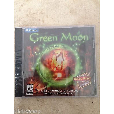 Cosmi Finance Green Moon (Jewel Case) Pc Brand  Sealed