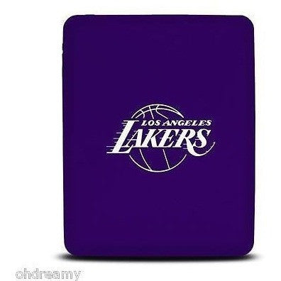 Tribeca Los Angeles Lakers iPad 1st Gen Silicone Soft Skin Cover Purple