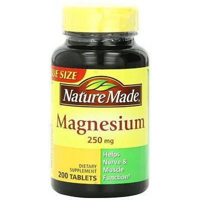 Nature Made Magnesium 250Mg, 200 Tablets