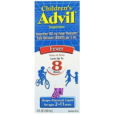 Children'S Advil, Grape, 4 Ounce