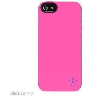 Belkin Grip Neon Glo Case / Cover For iPhone 5 And 5S (Pink)
