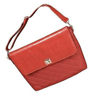 Bonaka Limited Bianca Laptop Notebook Sleeve Bag Brick Red Size M