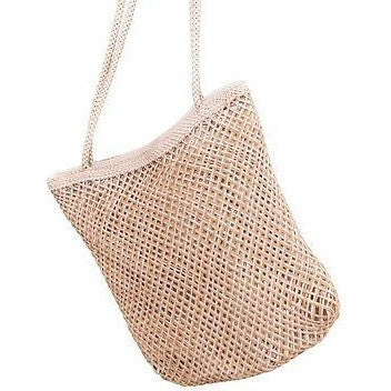 Generic Criss Cross Tote Bag Womens Purses White Size Large