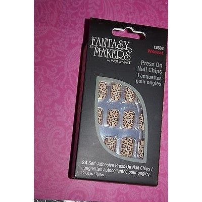 Fantasy Makers 24Pc Press On #12637 Queen Of The Dead Nail Chip Halloween + Gif