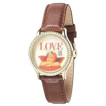 "The P.S. Collection Arjang And Co. Women'S Ps-1002G-Db ""Love Cupid"" Watch"
