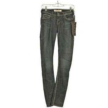 1921 Ls095Abrue Slim Straight Leg Womens Jeans Medium Wash Size 24