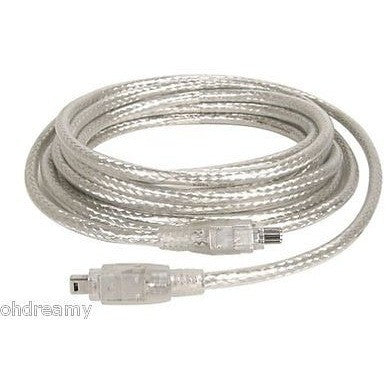 Iogear Ieee 1394 6-Pin To 6-Pin Premium Hi-Speed Cable  6 Feet. G2L13946-6