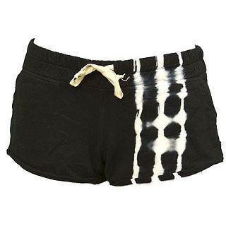 Malibu Society Terry Tie Dye Womens Shorts Black Size M