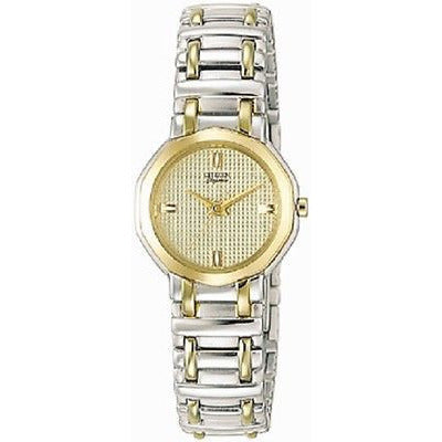 Citizen Ek7894-54P Ladies Watch Elegance Two Tone