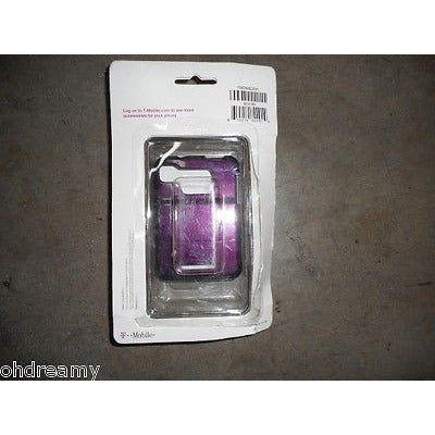 T-Mobile Motorola Protective Cover For Motorola Charm Purple