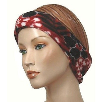 The Mad Hatter Womens Headbands Red Hawaiian Size O/S