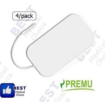 "24 Re-Usable Pads, For Tens 3000, 2"" X 4"" White Foam,  Premium Multy Stick Gel - Oh!Dreamy Online Store"
