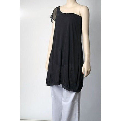 Rose Roxane One Shoulder Womens Dress Black Size S