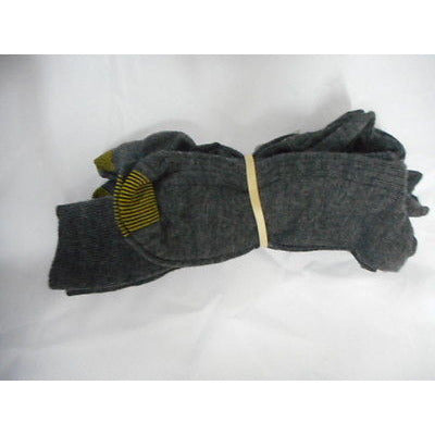 Long 3-Pair Socks Gray