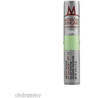 Mission Skincare Athlete-Engineered Lip Balmer SPF 15, Mint - Oh!Dreamy™ Online Store