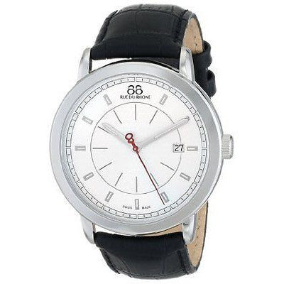 88 Rue Du Rhone Men's 87WA120036 Analog Display Swiss Quartz Black Watch