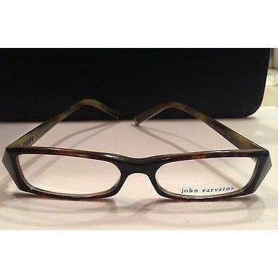 John Varvatos Designer Eye Frames V303 Tortoise Horn Eye Glasses 140Mm 16Mm 52Mm