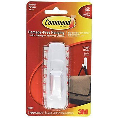 Command Utility Hook, Large, 5-Pound Capacity - Oh!Dreamy™ Online Store