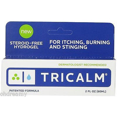 Tricalm Steroid-Free Anti-Itch Hydro Gel - 2 Oz