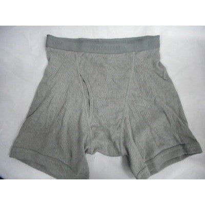Fruitloom 1-Pack Boxerbrief Gray, Size Medium M