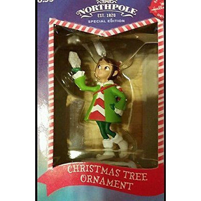 2014 Hallmark Northpole Special Delivery Edition Elf With Snowflake Ornament