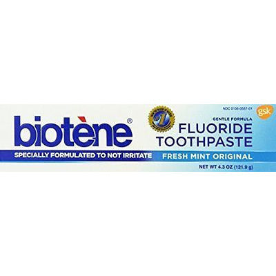 Biotene Toothpaste, Fresh Mint, 4.3 Ounce - Oh!Dreamy™ Online Store