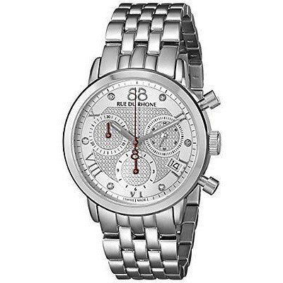 88 Rue Du Rhone Women's 87WA130035 Double 8 Origin Analog Display Swiss Quartz