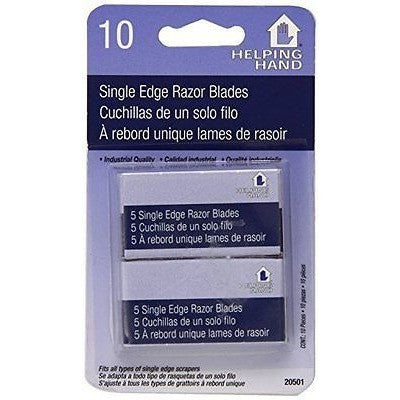 Helping Hand Single Edge Razor Blades, 10 Count - Oh!Dreamy™ Online Store