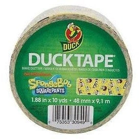 Duck Brand 280906 Licensed Duct Tape, Spongebob Squarepants, 1.88 Inches X 10
