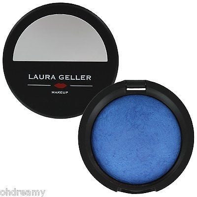 Laura Geller Sugared Baked Pearl Eye Shadow Compact - Tribeca Blue