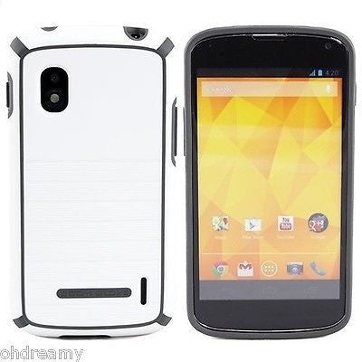 Body Glove Nova Case For Lg Nexus 4 White/Gray