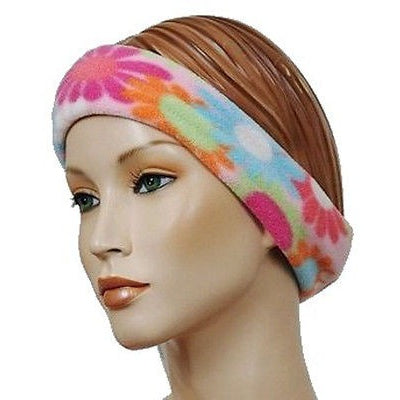 The Mad Hatter Womens Headbands Pink Flower Multi O/S