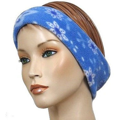 The Mad Hatter Womens Headbands Sky Flower Blue O/S