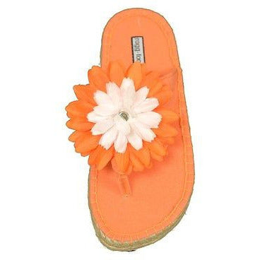 Karamel Corn By Ragg Waikiki Girls Sandals Childrens Shoes Orange Size 12