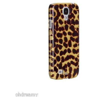 Case-Mate Tortoiseshell Case For Samsung Galaxy S4 - Retail Packaging - Brown