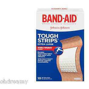 Band-Aid Tough-Strips, Extra Large (Package Damage)